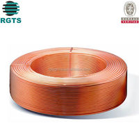 Pancake Coil Copper Pipe Type and Air Condition Or Refrigerator Application copper tubing