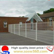 HOT Sales Curved Pvc Coated Metal Fence Netting