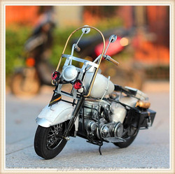 New Products Iron Beige Motorcycle Models, Becautiful 3d Motorcycle Toys for sale