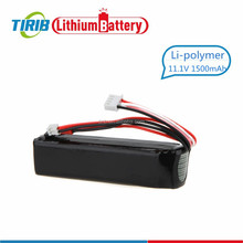 China Battery Manufacturer RC Car Li ion Polymer Battery 1500mAh 11.1v