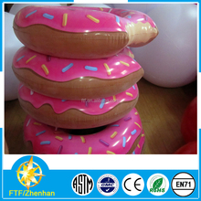 Huge pool toys size 120cm donut inflatable in swimming rings donut ring