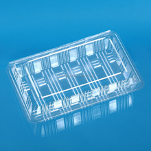 Disposable Transparent Plastic Container for Food
