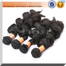 2015 Alibaba china hot sale loose wave indian virgin human hair
