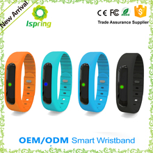 Smart wristband fitness tracking with Pedometer and anti-lost