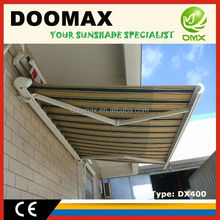 #DX400 Aluminum Porch Full Cassette Awnings with CE