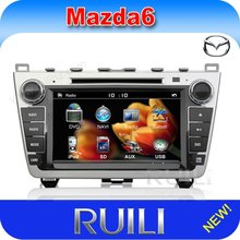 """2012 Excellent Quality New 8"""" Digital Screen car audio cd player with GPS Tracker CAN-BUS Special for Mazda 6"""