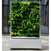 Free Standing Living Green Wall with Automatic Irrigation System Small Vertical Planting Wall