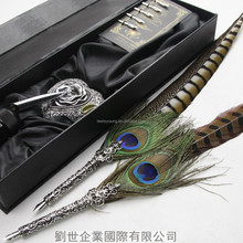 Attractive Golden Pheasant Feather Guill Pen/Golden pheasant feather pen