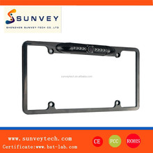 Low illumination high resolution American license plate reversing camera