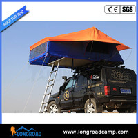4x4 auto pole aluminum camp top tent with entrance cover