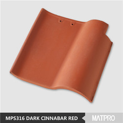 fireproof material cheap asian style chinese ceramic roof tiles
