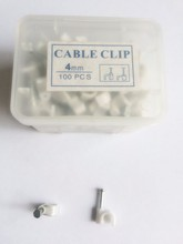 C Type /Circle Plastic Cable Clip (4MM 5MM 6MM 7MM 8MM 10MM 12MM 16MM 18MM 20MM 25MM...)