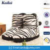 smooth sheepskin snow ankle boots for women