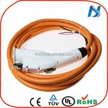 16Amp 32Amp 70Amp current sae j1772 ev charging plug supplier For Electric Vehicle Charging solution