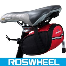 Wholesale hot sale colorful water proof expandable saddle bicycle bag 13567