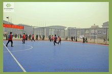 plastic floor/ artificial grass for futsal courts