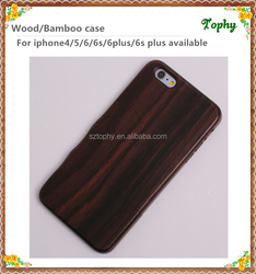 Padauk,Sapele,Bamboo, wood, walnut wood Material case for Apple iPhones Compatible Brand wooden back cover case for iphone 6