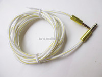 wholesale promotion DC3.5M to DC3.5M candy metal audio cable