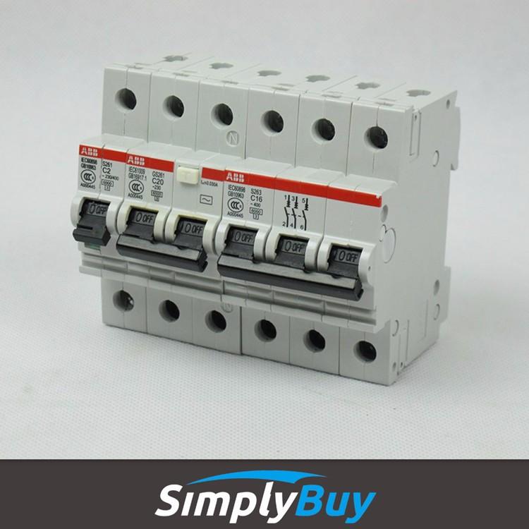 Miniature circuit breaker 1