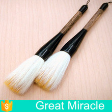 Chinese multiple goat hair and horse hair black ox horn ferrule writing calligraphy brush pen
