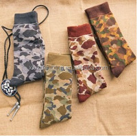 China Wholesale Cheap Camo Series Custom man sock