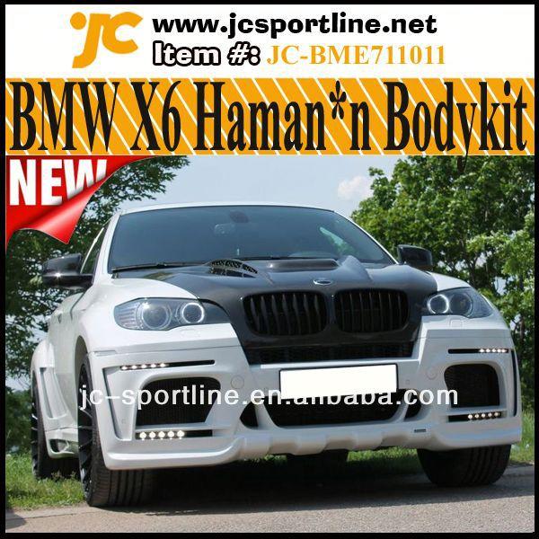 Bmw X6 Production: Série X6 Haman*n Wide Style Suv De Voiture En Fibre De
