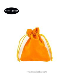 china new product made in china velvet cosmetic bag