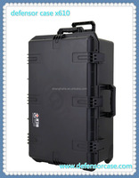 x610-Hard pp waterproof Plastic storage tool case for equipment
