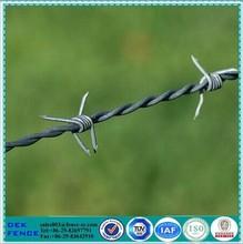 Galvanized cross coils tensioner / barbed fastener