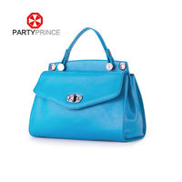 China factory hot sell cheap name brand purses fancy leather handbag