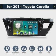 YZG 2014 toyota corolla car multimedia system