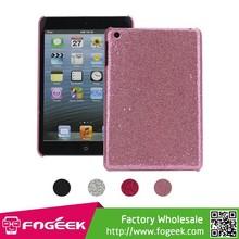 Shining Glitter Bling Powder Mesh Coated Hard Case Skin Cover for iPad Mini