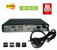 DVB-S2 fta digital satellite decoder MPEG-4 PVR BISS