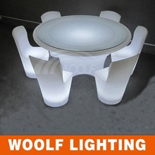 Hollow out style LED modern chair bedroom living room set led furniture decoration modern office chair for home hotel party bar