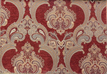 Fashion chenille jacquard sofa fabric upholstery fabric Dubai Sample A
