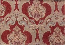 Fashion chenille jacquard sofa fabric upholstery fabric Dubai Sample A