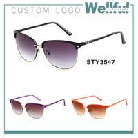cheap wholesale fake costa del mar sunglasses china metal half frame women sunglasses