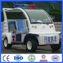 New amusement park electric sightseeing car 4 seats glassfiber cruiser car