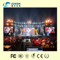 P12.5 LED light stage curtain for outdoor using