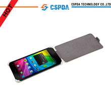 cuero de la pu cubierta de tapa para alcatel teléfonos inteligentes caso t6030d