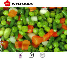 Frozen Mix Vegetables (IQF Beas -IQF peas- IQF Carrots... ...)