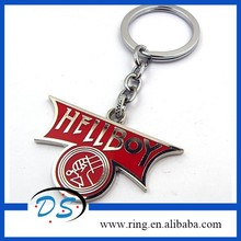 Movie Hellboy metal Keychain Keyring Size Collection Animation Keyring