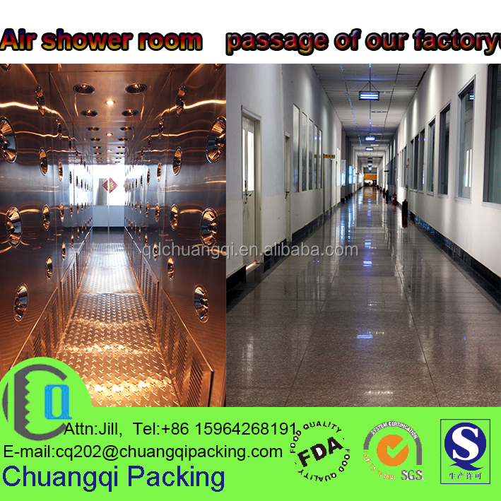 custom printing food lamination plastic roll films