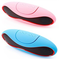 Factory Wholesale Fast Delivery Time Oval Shape Bluetooth Speaker