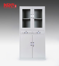 hot sale hospital medical instrument cabinet with 2 drawers