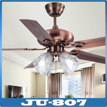 Decorative modern remote control led ceiling fan and good looking ceiling fan light