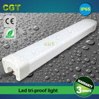 LED industrial tube waterproof light LED tri-proof light fixtures 1500mm 5FT 50w 60w 70w 80w IP65 with CE Rohs