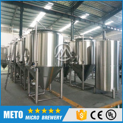 Turnkey project 15BBL Craft beer brewery equipment for brewery house with ISO and CE