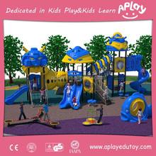 Kids outdoor natural school adventure playgrounds equipment AP OP20901