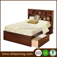 new design space save single wooden box bed TRBD-046